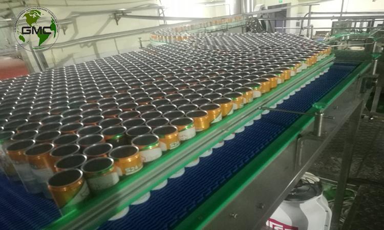 Dây chuyền nước ngọt đóng chai tại Vụ Bản Nam Định
