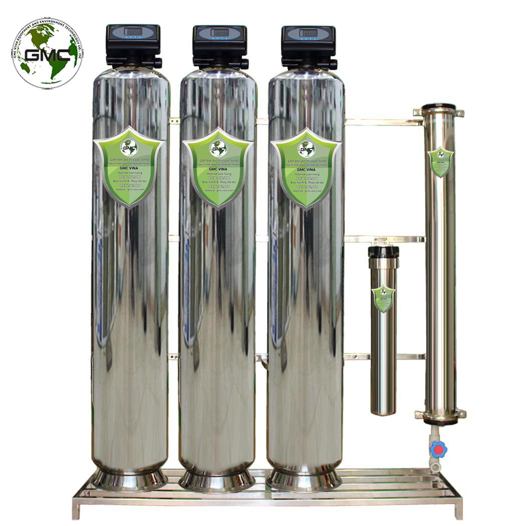 Hệ thống lọc nước sinh hoạt toàn diện GMC-AV-DCSU1.2i