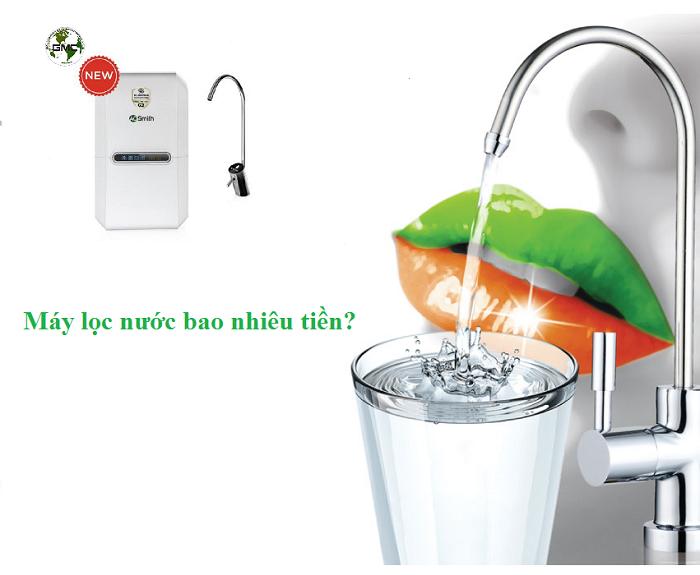 Tiền nào của nấy - Hé lộ con số chi tiết máy lọc nước bao nhiêu tiền?