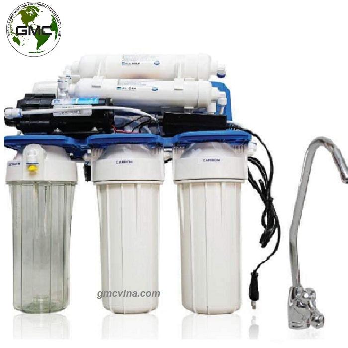 Máy lọc nước RO 6 cấp không vỏ hộp – có bù khoáng tự nhiên