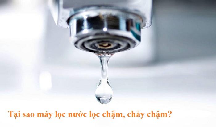 Tại sao máy lọc nước lọc chậm, chảy chậm đừng mãi đổ lỗi cho nhà sản xuất